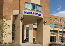 Construction d'hôpital images libres de droits