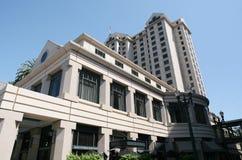 Construction d'hôtel Photos libres de droits