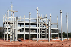 Construction d'infrastructure Image stock