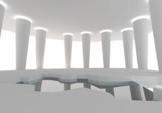 Construction d'intérieur de l'espace Photo libre de droits
