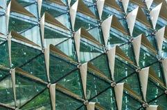 Construction d'opéra d'esplanade à Singapour Photos libres de droits