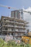 Construction d'un appartement chez Carolina MacGillavrylaan Amsterdam The Netherlands 2018 images stock