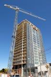 Construction d'un ayant beaucoup d'étages Photographie stock libre de droits