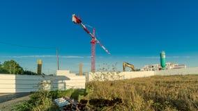 Construction d'un bâtiment Images libres de droits