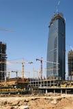 Construction d'un centre Photo libre de droits
