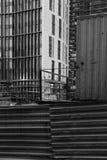 Construction d'un complexe résidentiel d'élite à Moscou Photo libre de droits