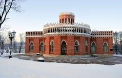 Construction d'un composé architectural dans Tsarina Images stock