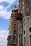 Construction d'un high rise Photo stock