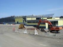 Construction d'une école Images libres de droits