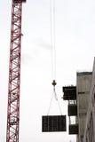 Construction d'une construction Photos libres de droits