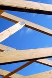 Construction d'une maison photographie stock