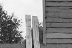 Construction d'une maison d'été image libre de droits