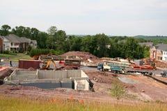 Construction d'une nouvelle maison Images stock