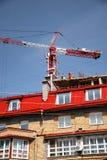 Construction d'une nouvelle maison Image libre de droits
