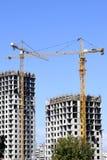 Construction d'une nouvelle maison Photos libres de droits