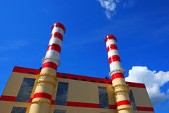 Construction d'usine Photo libre de droits