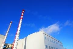 Construction d'usine Photos libres de droits