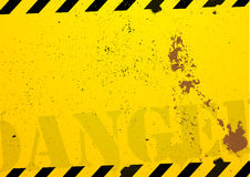 Construction danger background Royalty Free Stock Photos