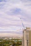 Construction dans la ville photographie stock libre de droits