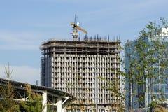 Construction dans la ville Images stock