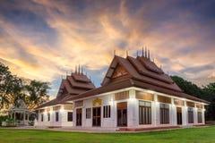 Construction dans le type thaï Photographie stock