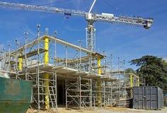 Construction de bâtiments Image libre de droits
