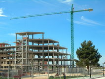 Construction de bâtiments Photographie stock