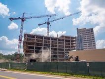 Construction de bâtiments de Cox Photo stock