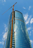 Construction de bâtiments de gratte-ciel Images stock