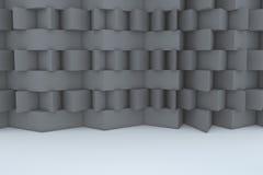 Construction de bâtiments grise abstraite Image libre de droits