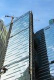 Construction de bâtiments moderne images stock