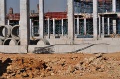 Construction de bâtiments neuve Photos libres de droits