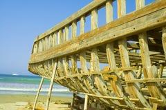 Construction de bateau Images stock