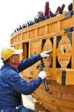 Construction de bateau de tortue Photographie stock