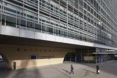 Construction de Berlaymont à Bruxelles Image stock