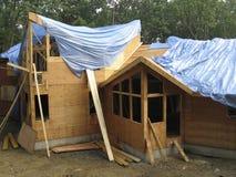 Construction de bois de construction - 2a Image libre de droits