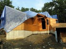 Construction de bois de construction - 4 Image libre de droits