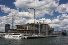 Construction de bord de mer Image libre de droits