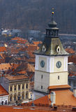 Construction de Brasov Images stock