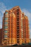 Construction de brique résidentielle moderne Photo libre de droits