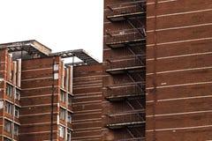 Construction de brique rouge Photos libres de droits