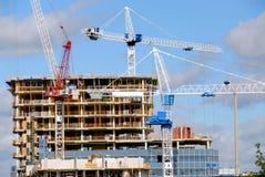 Construction de bâtiments Photos libres de droits