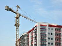 construction de bâtiments dessous Photos stock