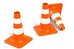 construction de cônes illustration libre de droits