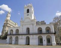 Construction de Cabildo, Buenos Aires Photo stock