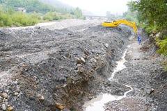 Construction de canalisation Image libre de droits