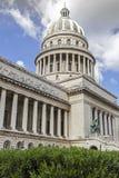 Construction de capitol à La Havane, Cuba Photographie stock libre de droits