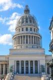 Construction de capitol à La Havane, Cuba Photo stock