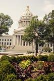 Construction de capitol d'état à Charleston Photographie stock libre de droits
