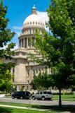 Construction de capitol d'état de l'Idaho Photos stock